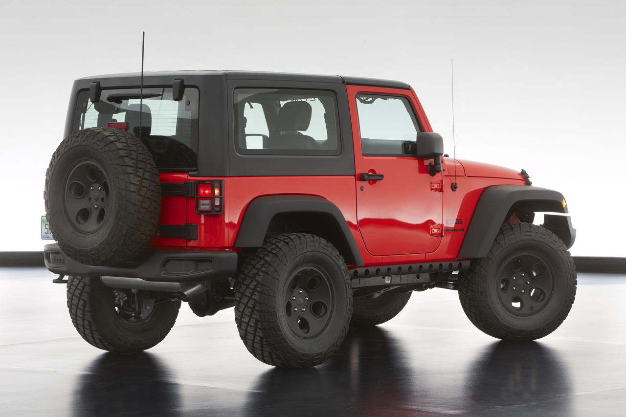 Jeep Unveils Extreme Wrangler Concepts Wallpaper HD