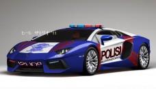 Lamborghini Aventador Police Car Screensavers For Ipad
