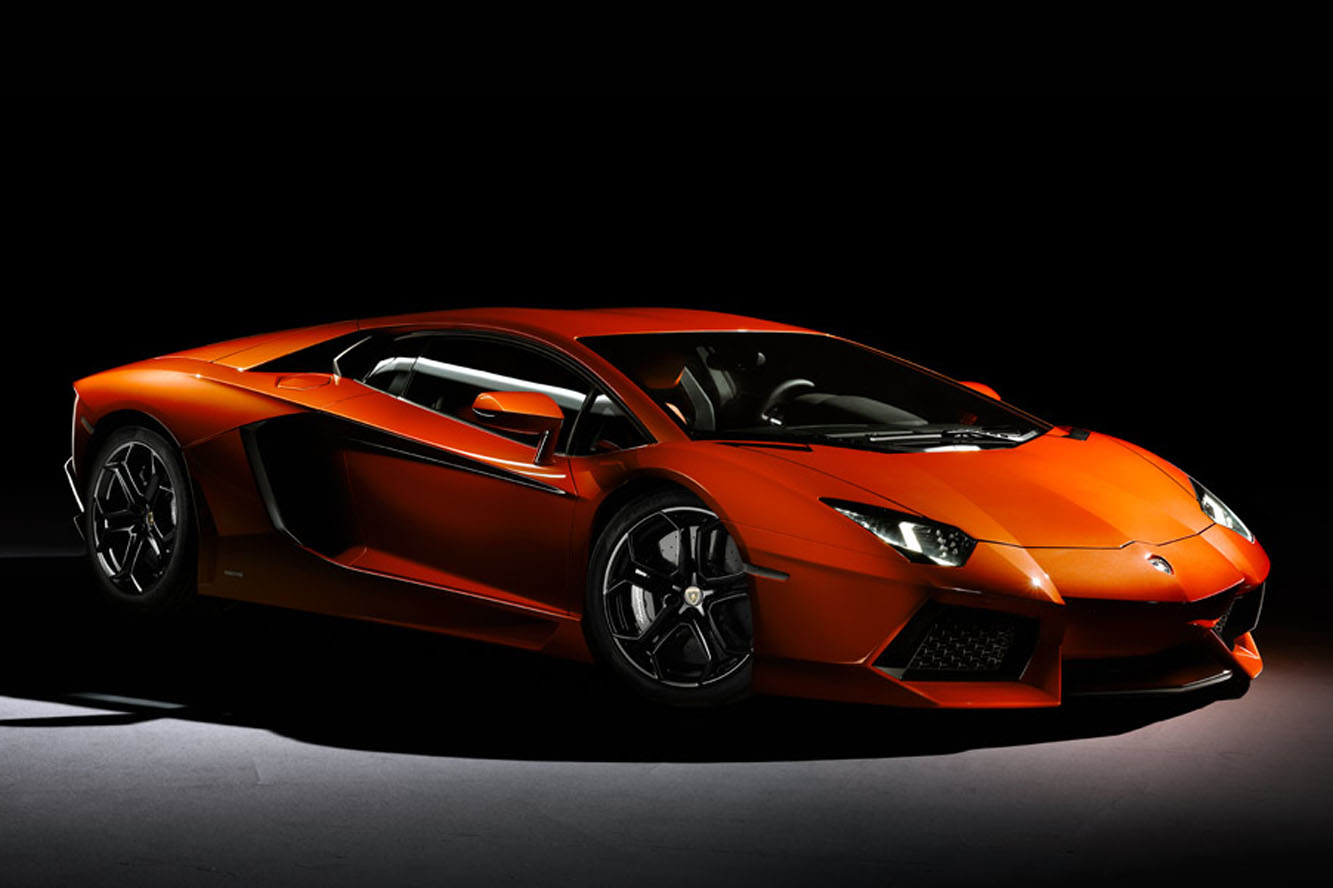 Lamborghini Aventador 2012 Wallpaper HD For Ipad