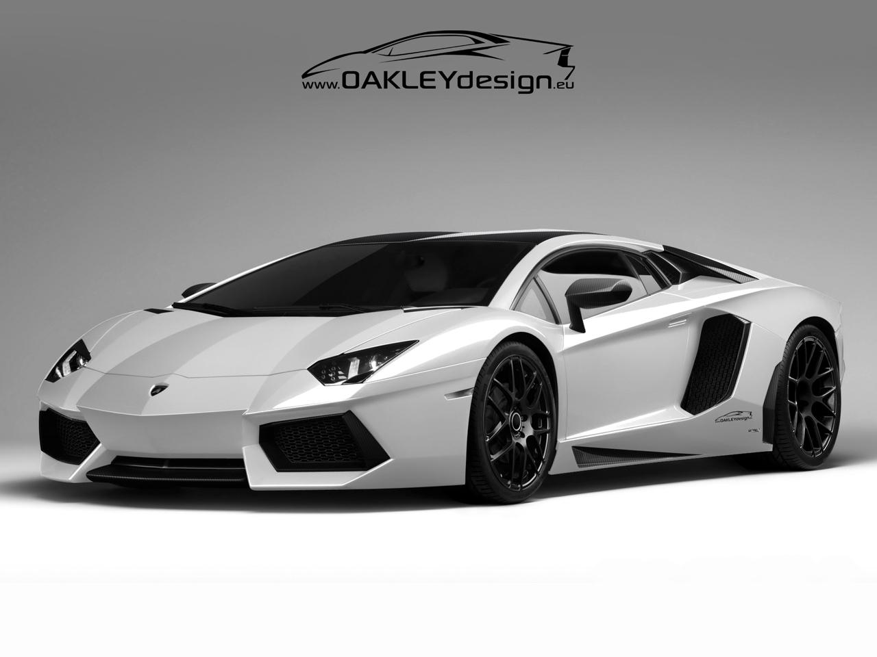 Oakley Design Lamborghini Aventador Wallpaper Download