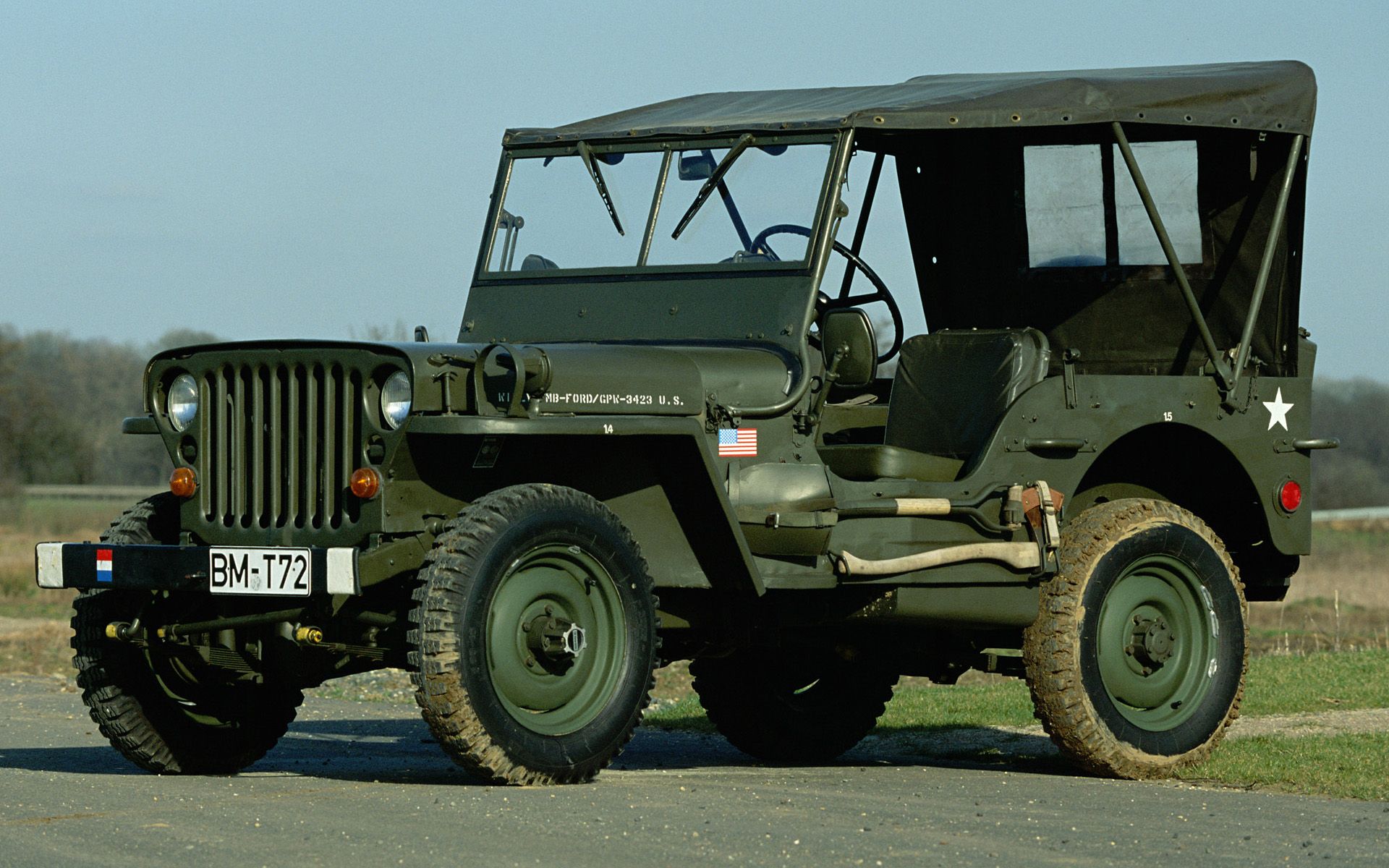 Willys MB Jeep 1942 Wallpaper Free For Ipad