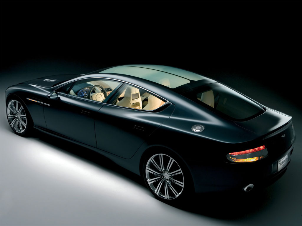 Aston Martin Rapide Background For Free