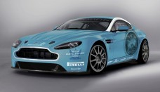 Aston Martin V12 Vantage Nurburgring Background For Computer