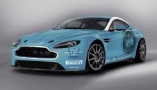 Aston Martin V12 Vantage Nurburgring Background For Computer