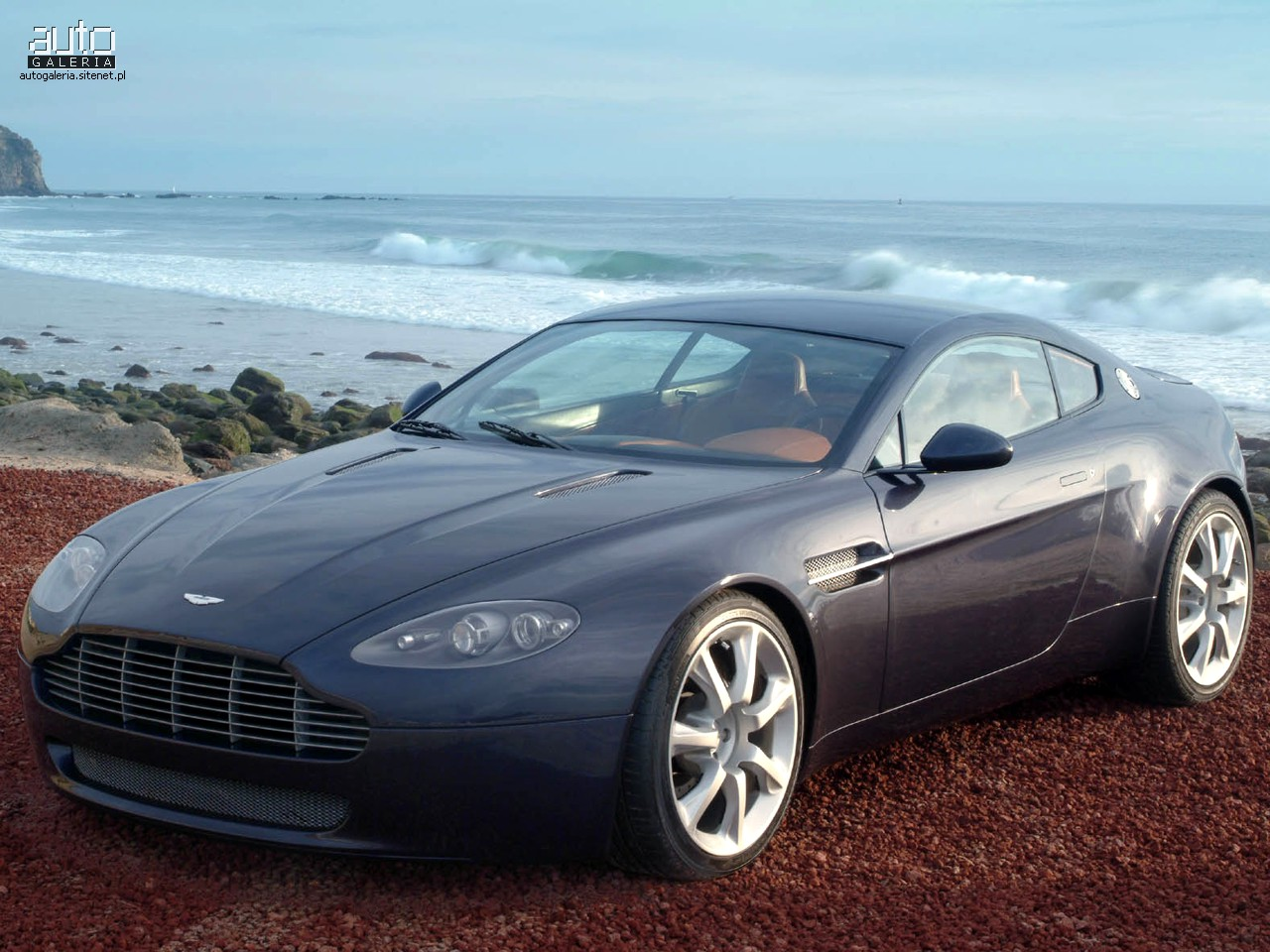 Aston Martin AMV8 Vantage Wallpaper Download Free
