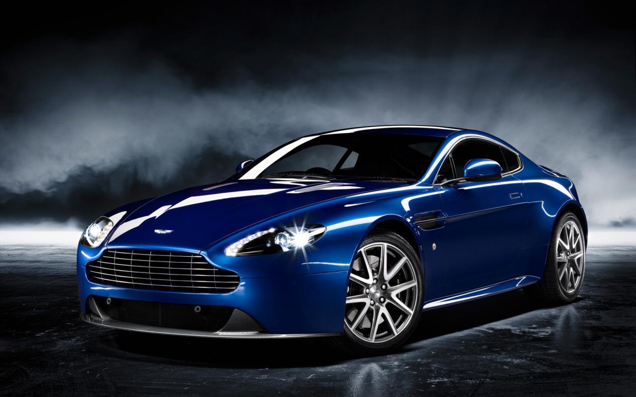 Aston Martin V8 Vantage S Background Images Free
