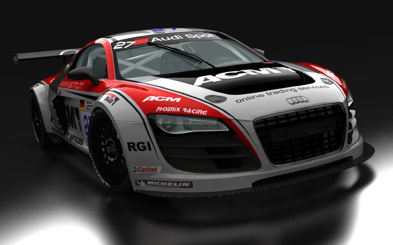 Audi R8 GT3 Wallpaper HD Free