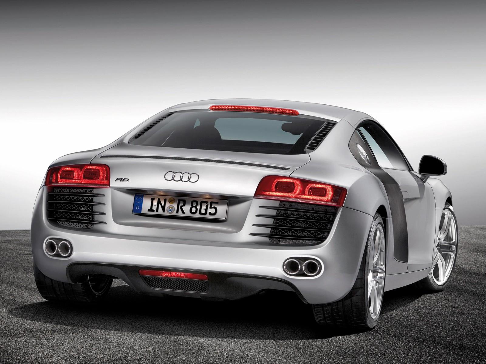 Audi R8 V8 Rear Wallpaper Gallery Free
