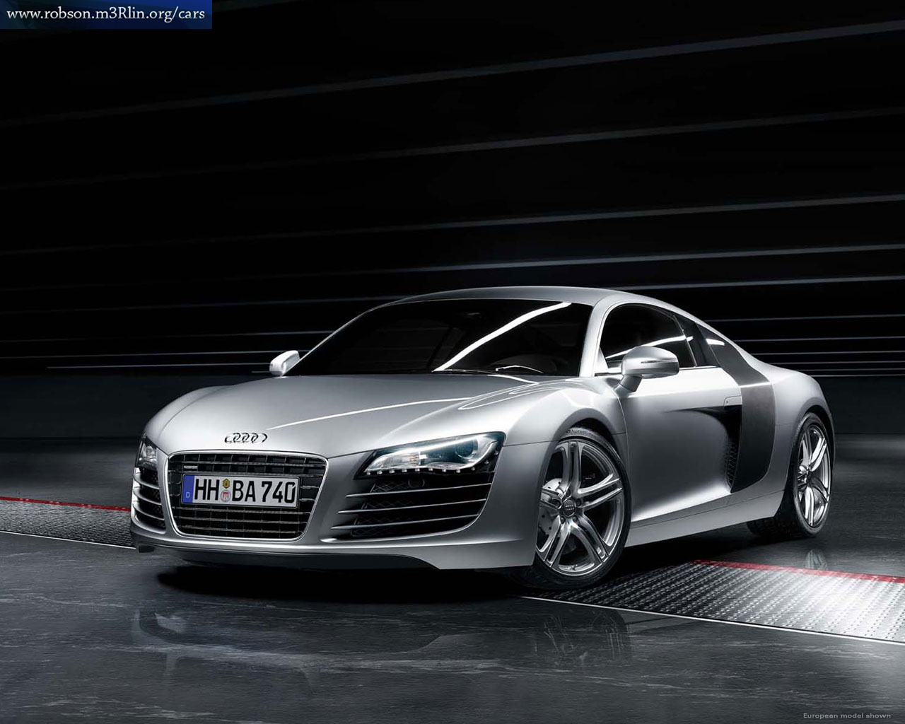 Audi R8 Free Wallpaper For Desktop