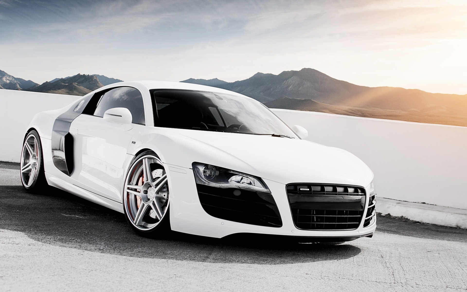 Audi R8 ADV1 Wheels Wallpaper HD For Android