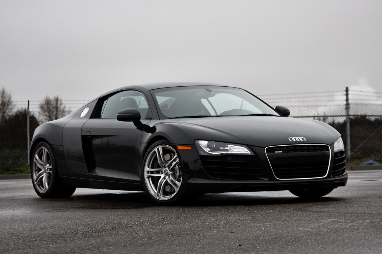 Audi R8 Black Wallpaper For Ipad