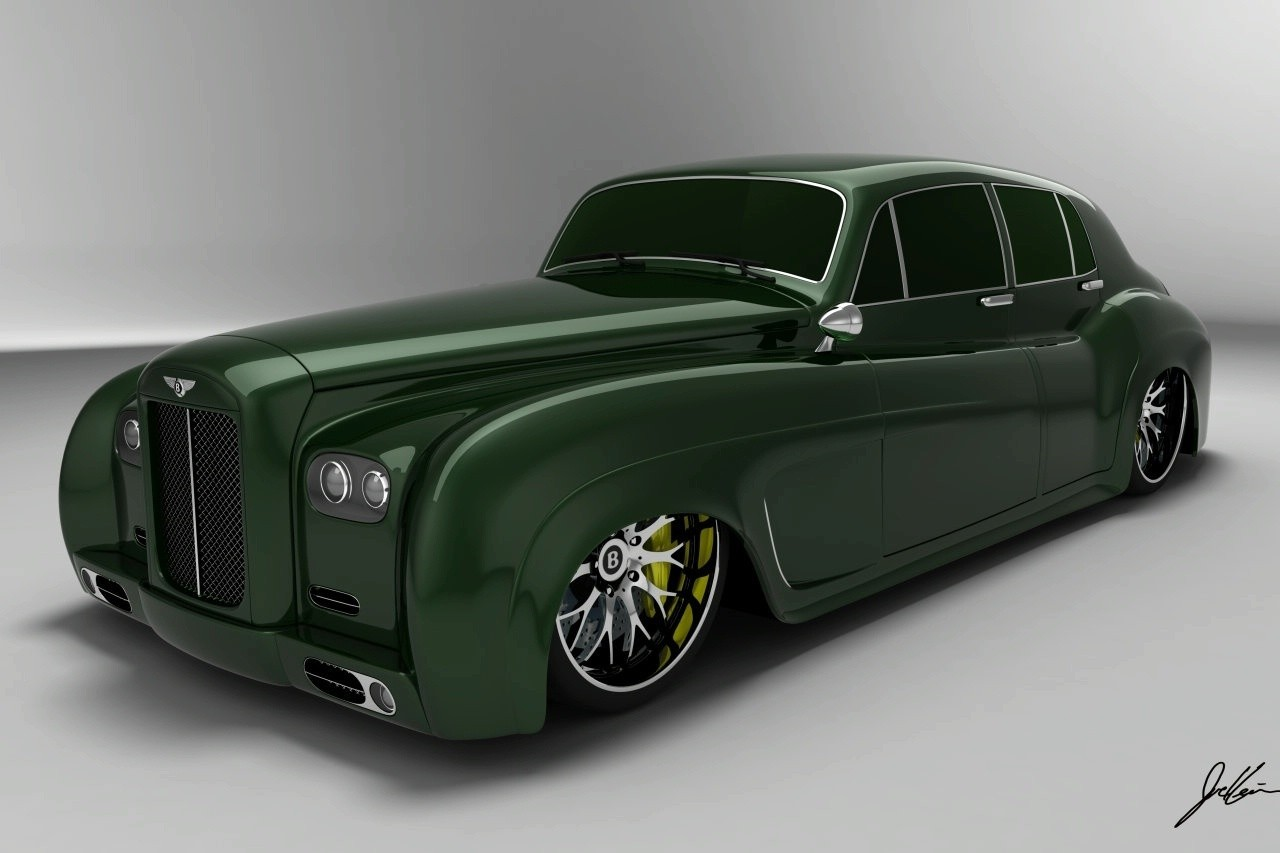 Bentley S3 E Design Concept Wallpaper For Background