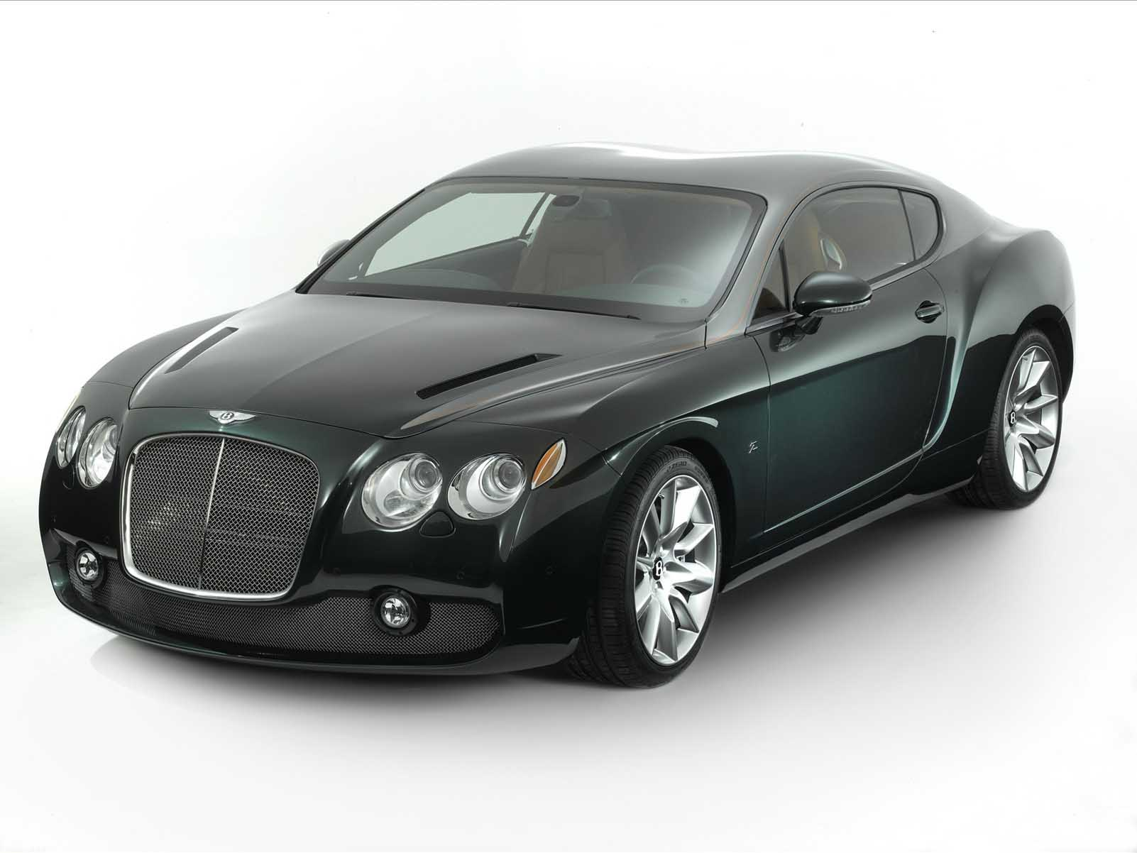 Zagato Bentley GTZ Desktop Computers Free Wallpaper