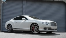Bentley Continental GT on 22 inch Modulare Wheels Free Wallpaper Download