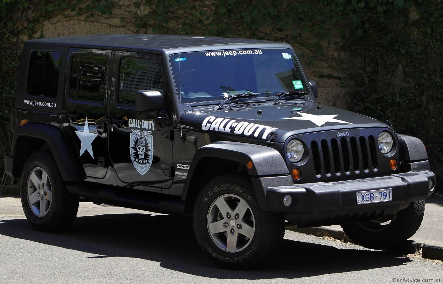 Duty Black Ops Jeep Wrangler Unlimited Wallpaper Download Free