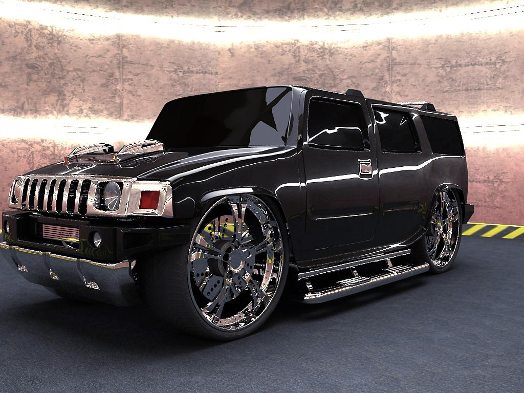 Modified Hummer Wallpaper Free For Windows