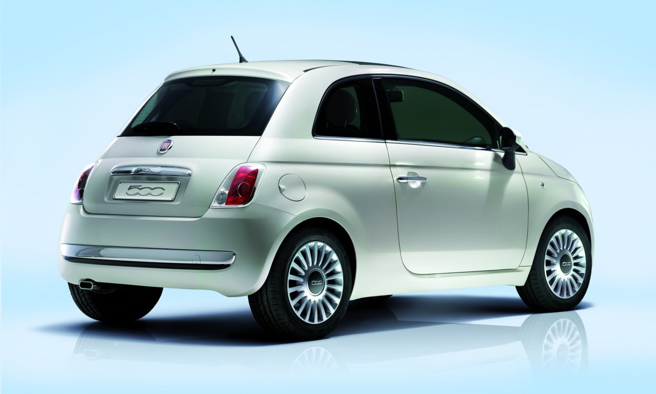Fiat 500 2010 Desktop Backgrounds HD