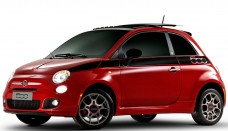 Fiat 500 2012 Vermelho Wallpaper HD Free