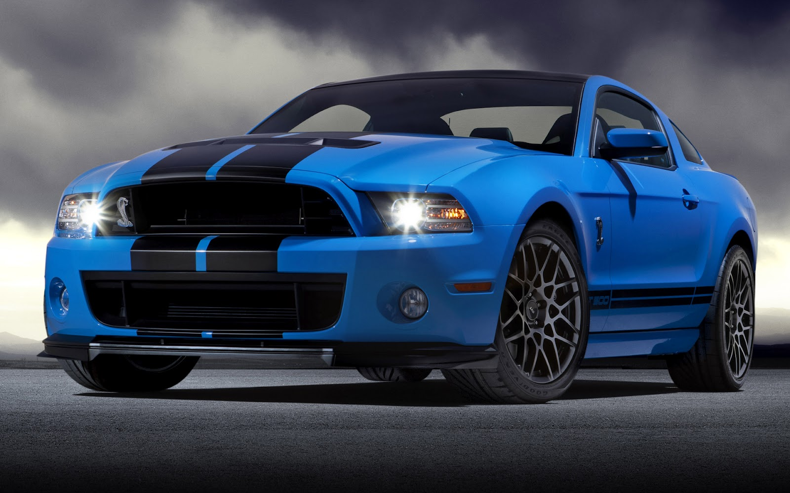 Ford Mustang Shelby GT500 Desktop Computers Free Wallpaper