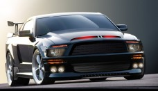 Ford Mustang Shelby GT500 2008 Background For Free
