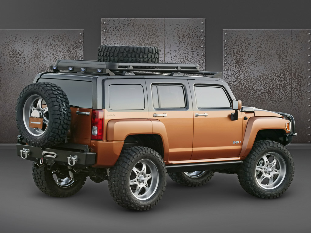Hummer H3 Background For Free Download