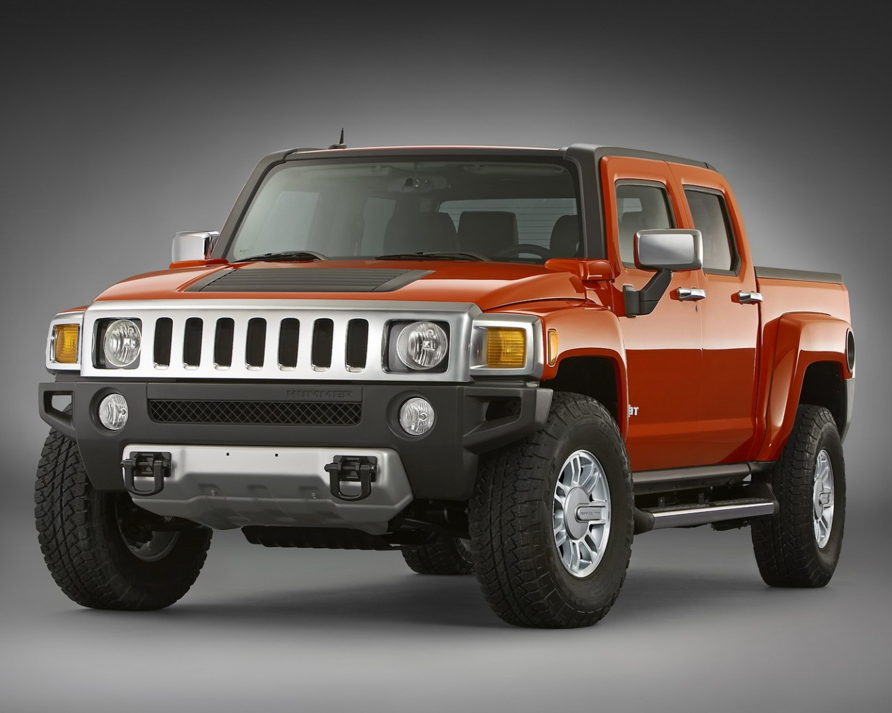 Hummer H3T Alpha Background For Ipad