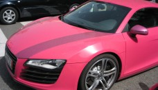 Pinky Audi R8 Supercars Background Images