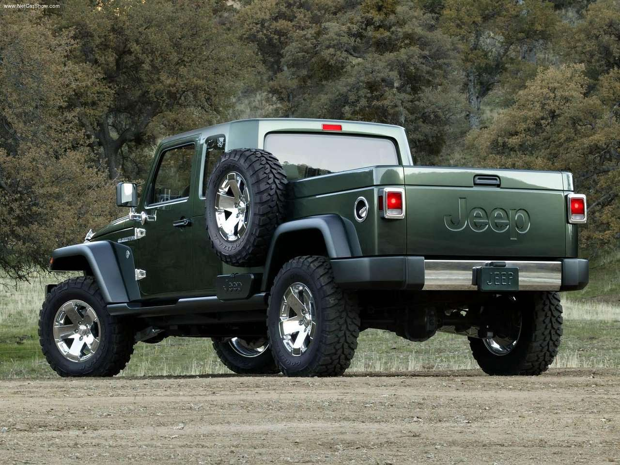 Jeep Gladiator Concept Wallpaper For Free Download