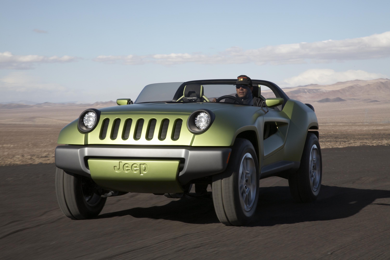 2010 Jeep Renegade Concept Desktop Wallpaper Free