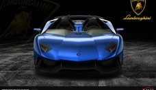 Lamborghini Aventador J Blue Wallpaper HD For Android