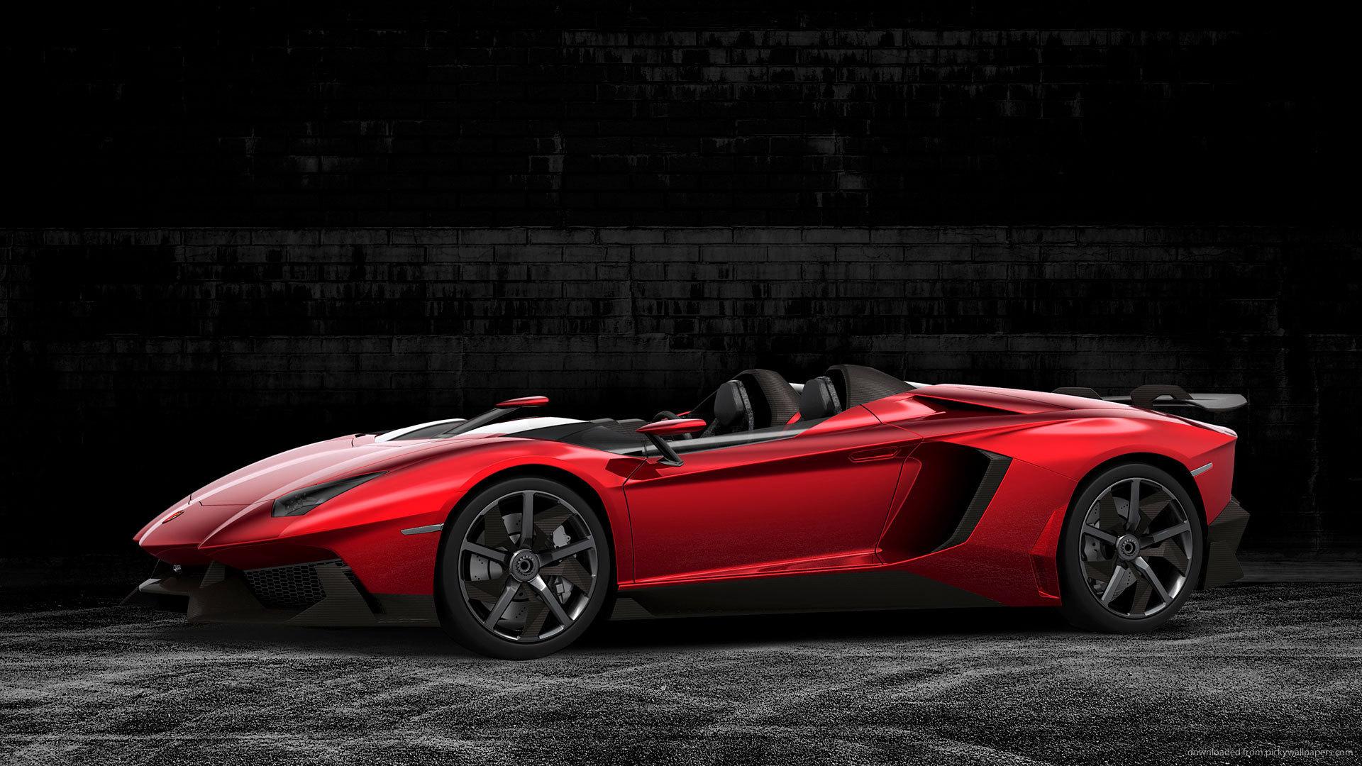 Lamborghini Aventador Roadster Wallpaper For Background