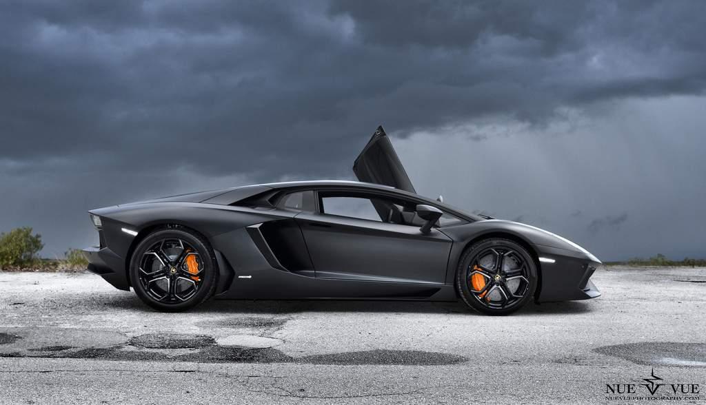 Black Matte Lamborghini Aventador Screensavers For Iphone