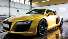 Free Wallpaper Download Matte Gold Audi R8