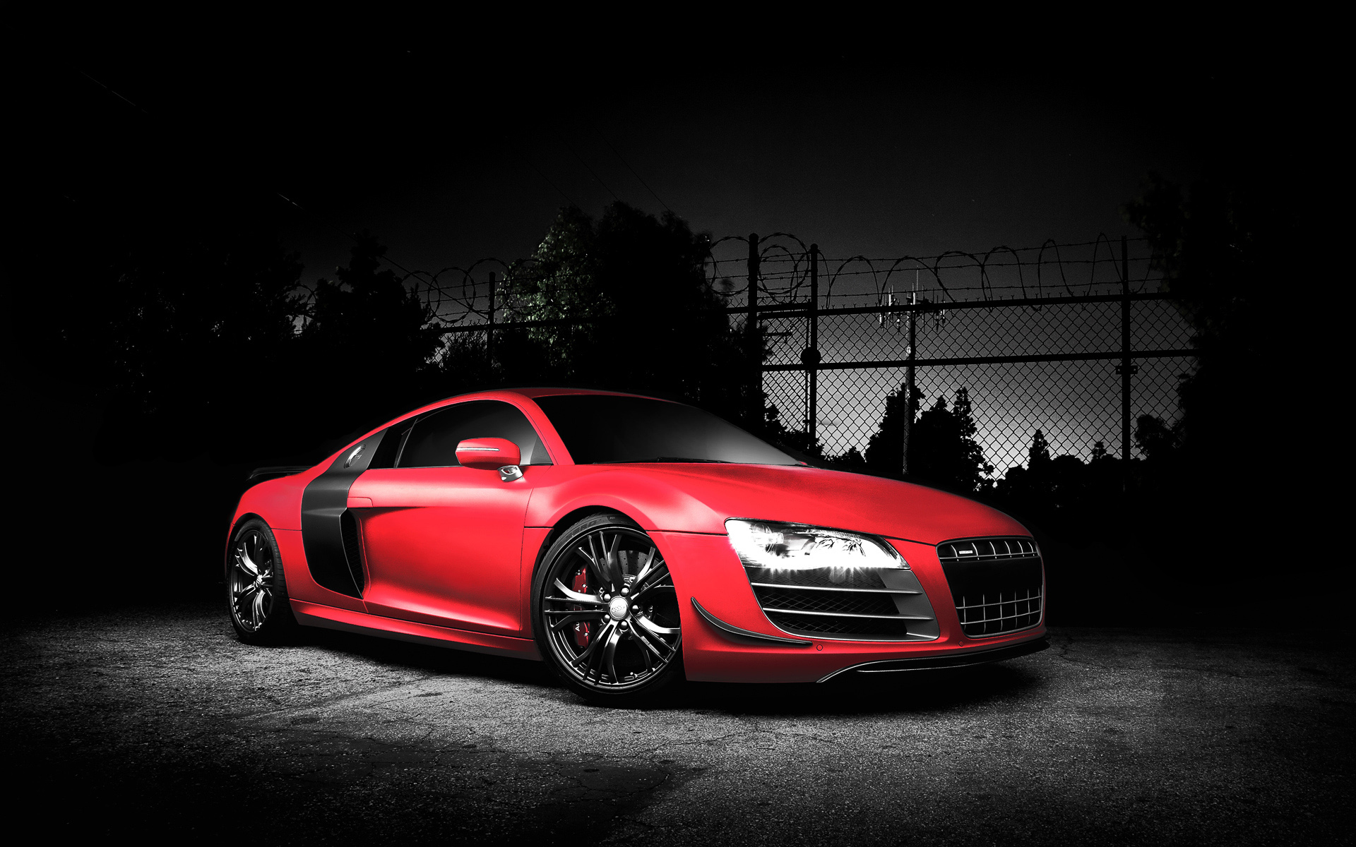 Red Audi R8 GT Screensavers For Iphone
