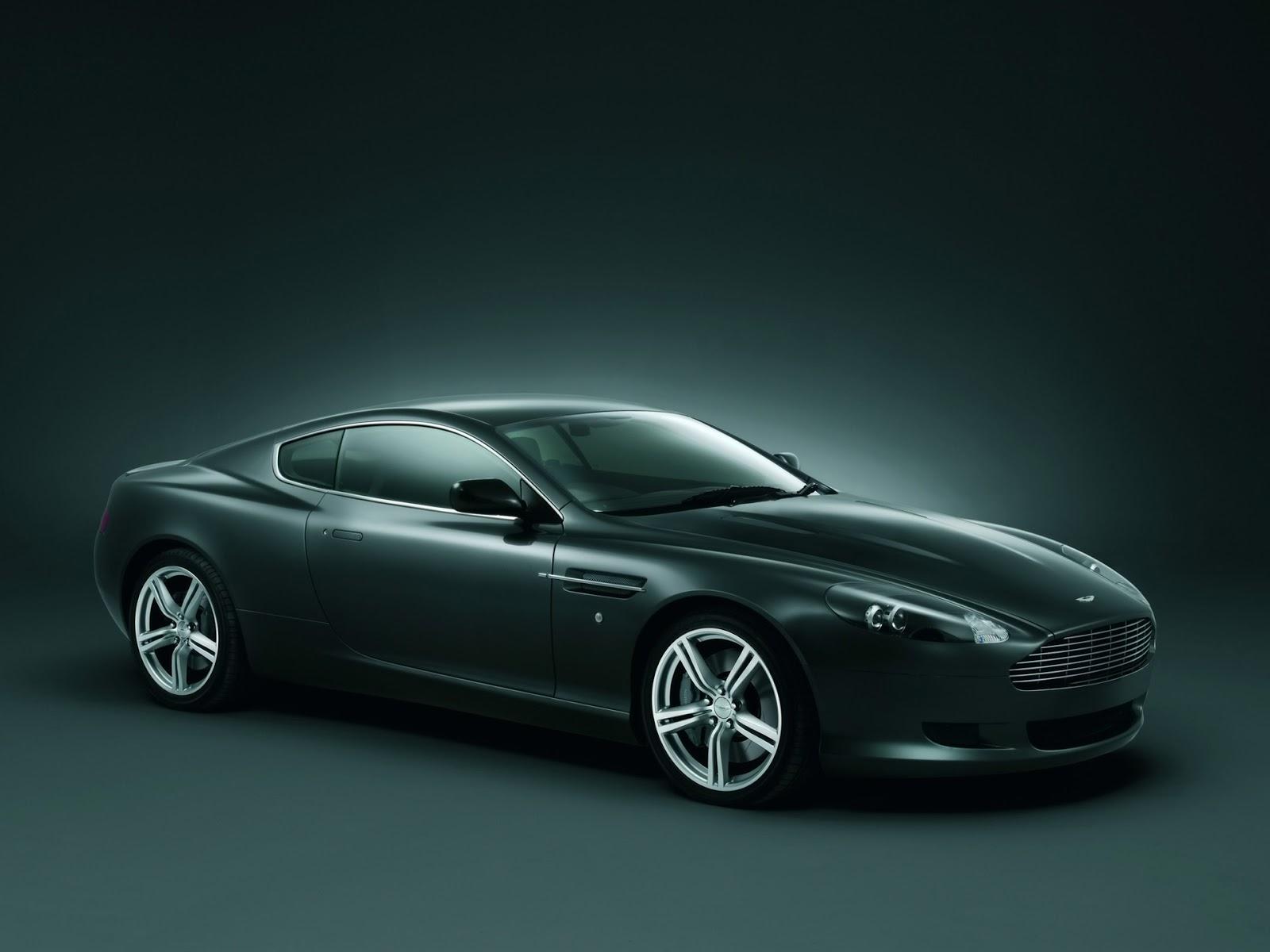 Aston Martin DB9 Desktop Backgrounds Free