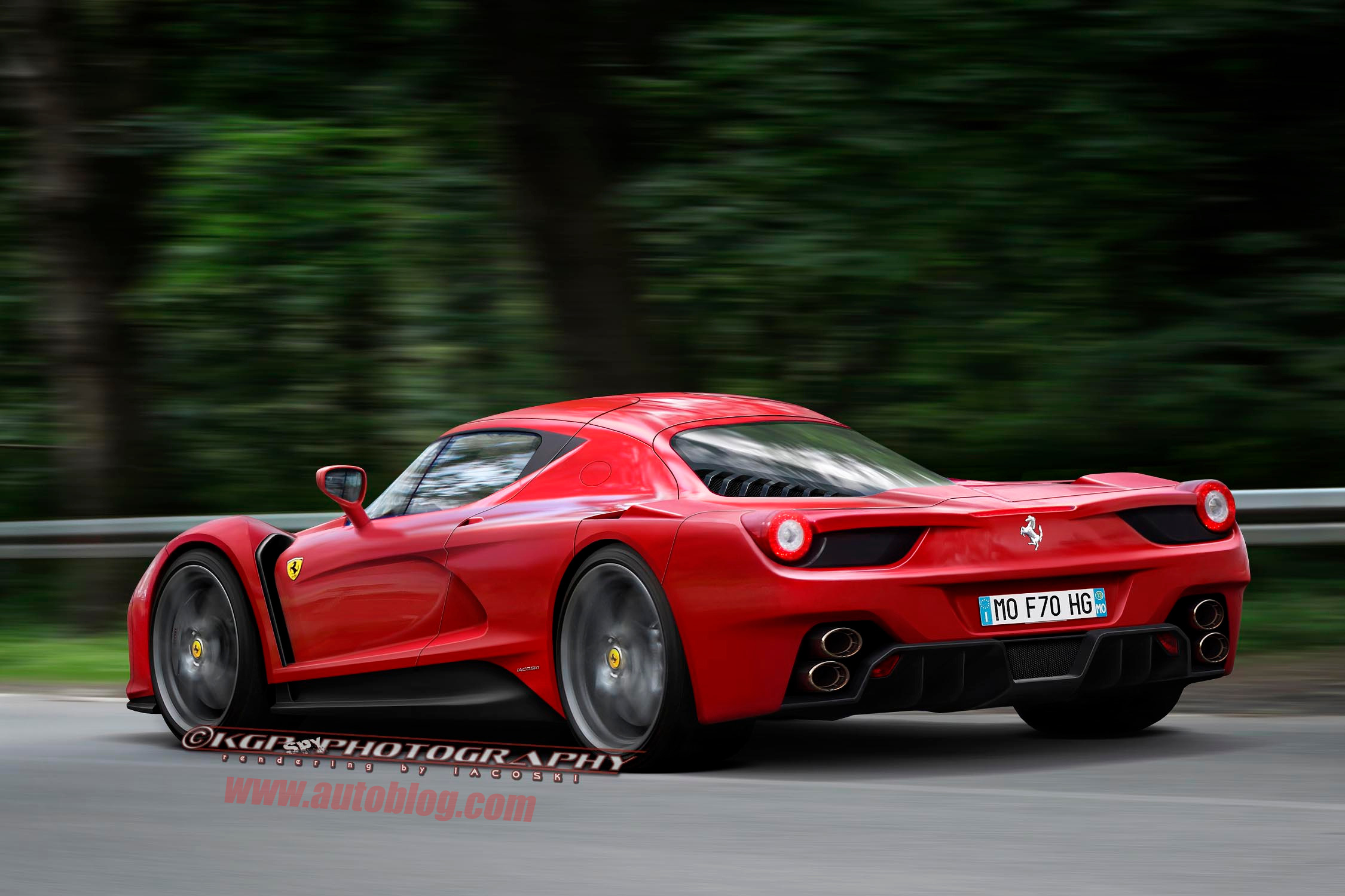 Ferrari F70 Rendering World Cars Wallpapers Download