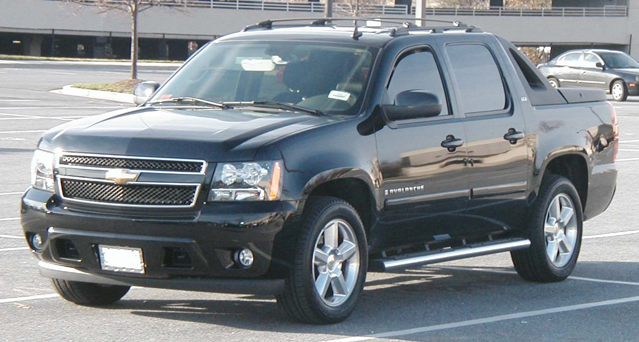 07 Chevrolet Avalanche Desktop Backgrounds Wallpaper
