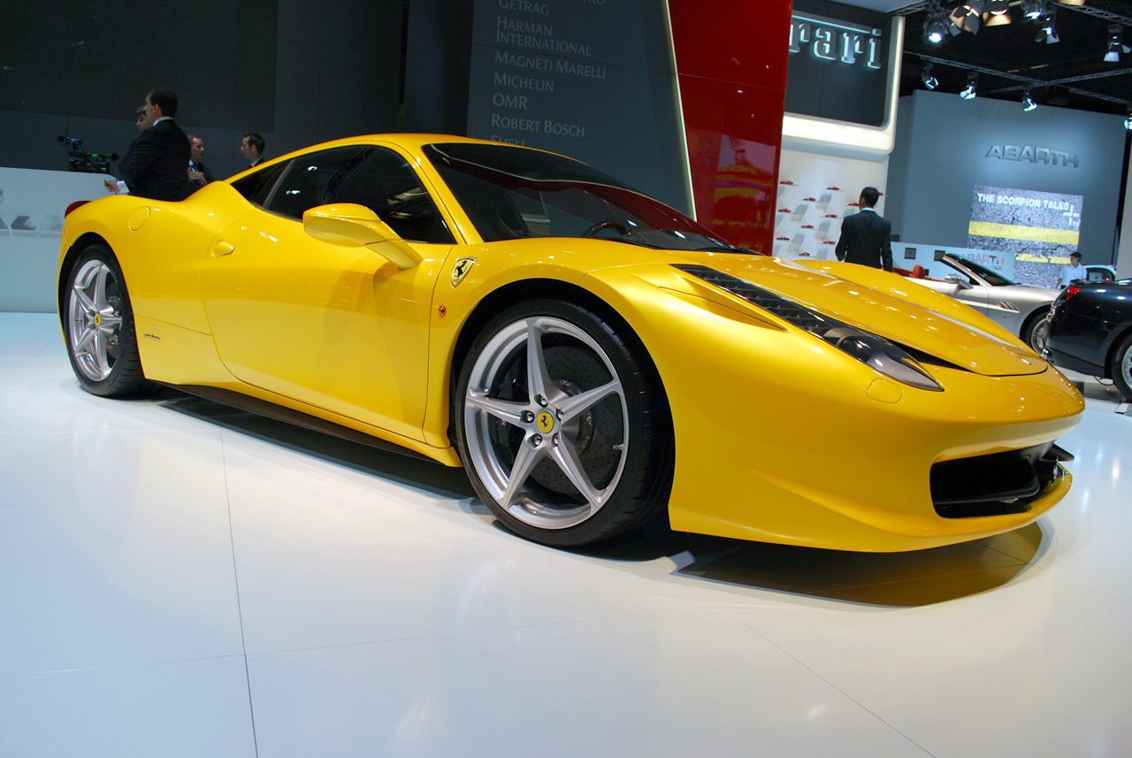 Ferrari 458 Italia Photos Frankfurt 2009 World Cars Free Download Image Of