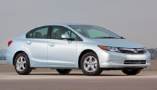 Honda Civic Natural Gas front view Wallpapers Desktop Download