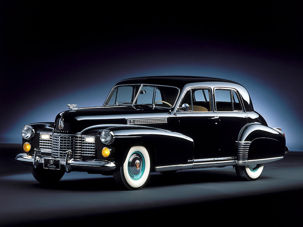 1941 Cadillac Fleet Wood Sedan Cadillac Historia evolucion Wallpaper Desktop Download
