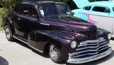 1947 Chevrolet Coupe Purple Front Angle Wallpapers For Desktop