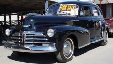 1948 Chevrolet Fleetmaster Black Front Angle Sedan 4 Door Wallpaper For Android