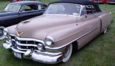 1952 Cadillac Convertible Beige PO Wallpapers Background