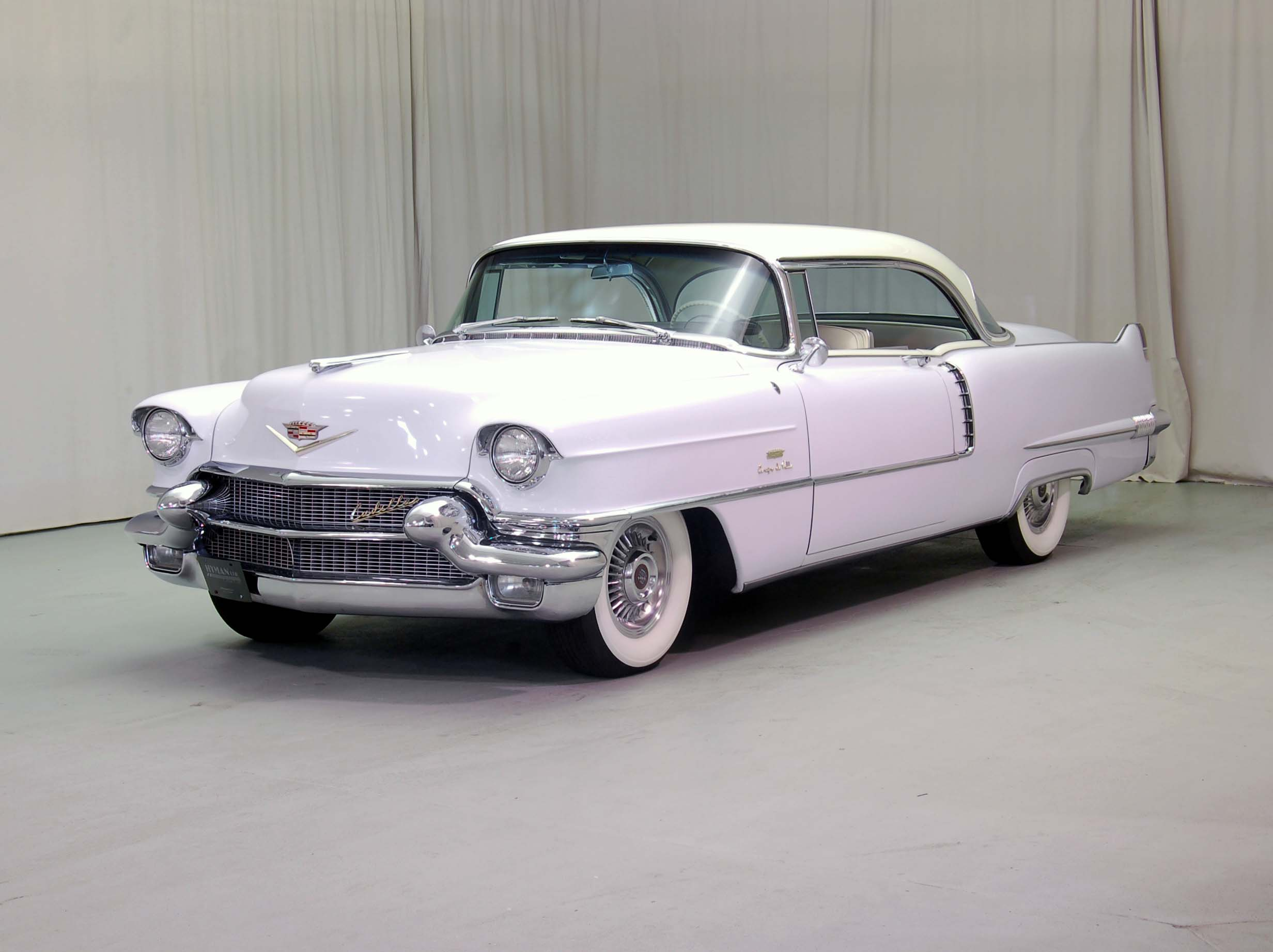 1956 Cadillac Coupe De Ville Wallpapers Background