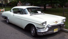 1957 Cadillac Eldorado Seville White Wallpaper For Desktop