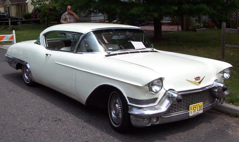 1957 Cadillac Eldorado Seville White Wallpaper For Desktop