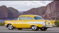 1957 Chevrolet Project X Rear And Driver Side  Wallpaper For Ipad