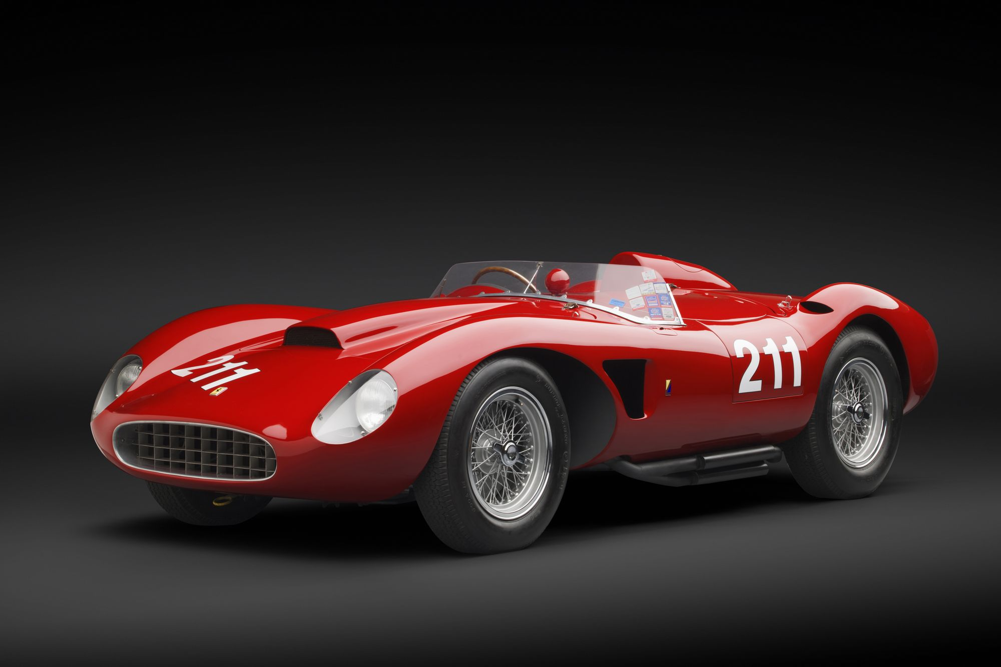 1957 Ferrari 625 TRC Spider World Cars Desktop Background