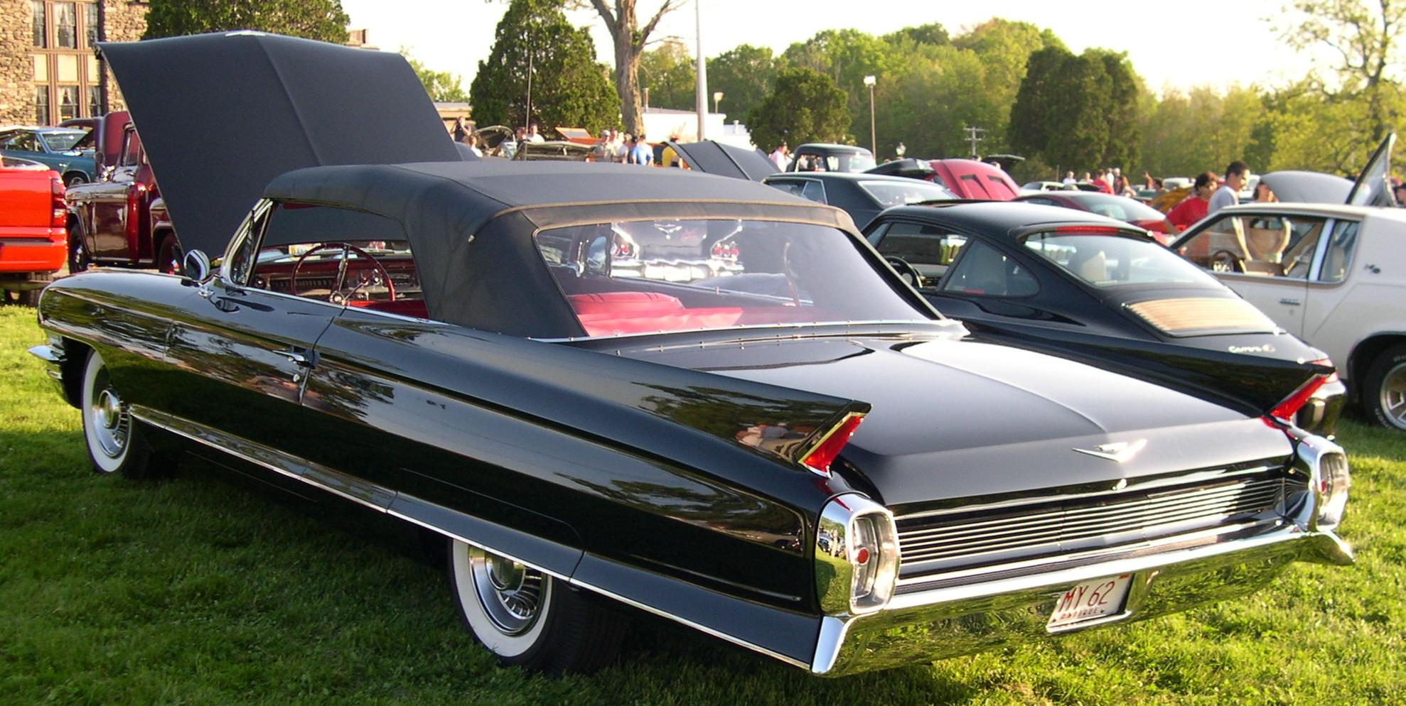1962 Cadillac Series 62 Convertible Wallpaper For Background