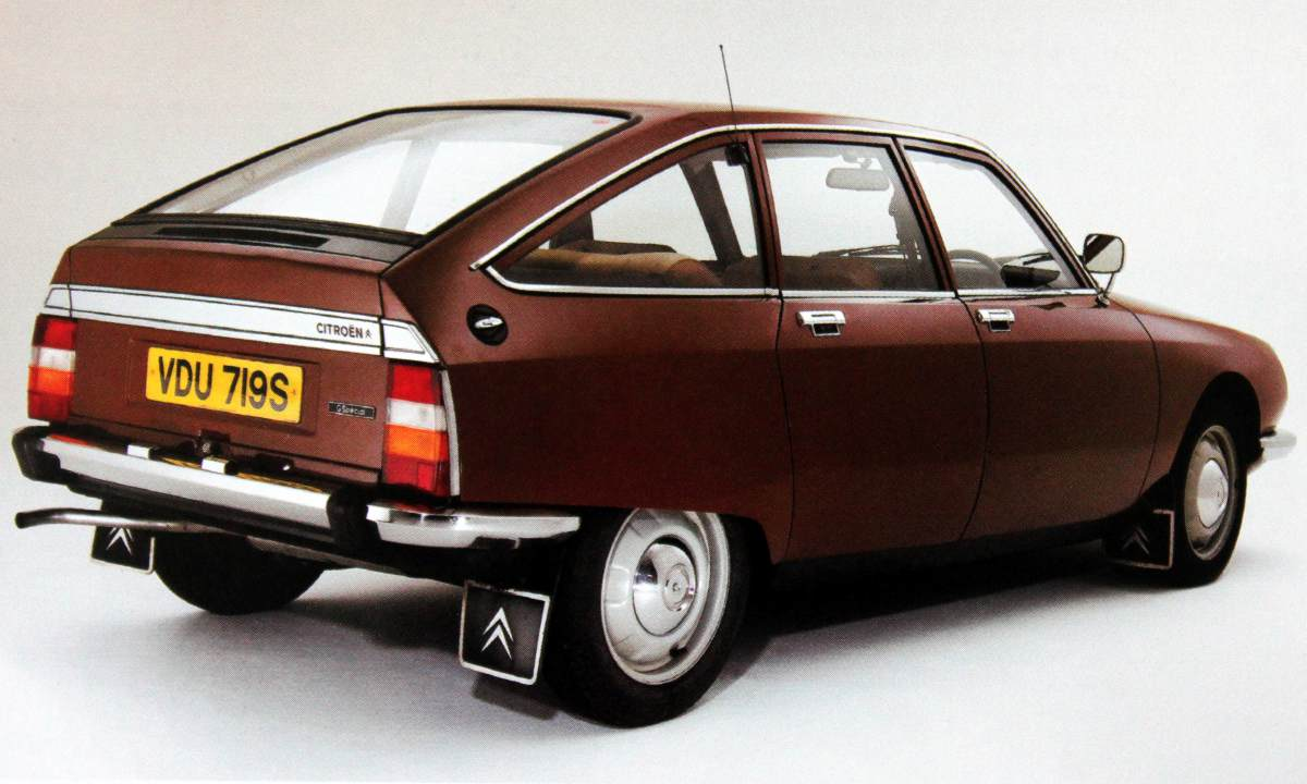 1970 Citroen GS Rear Wallpapers For Background